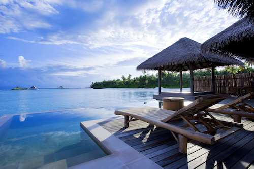 Maalifushi water villa & pool