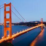 The iconic Golden Gate Bridge, San Francisco