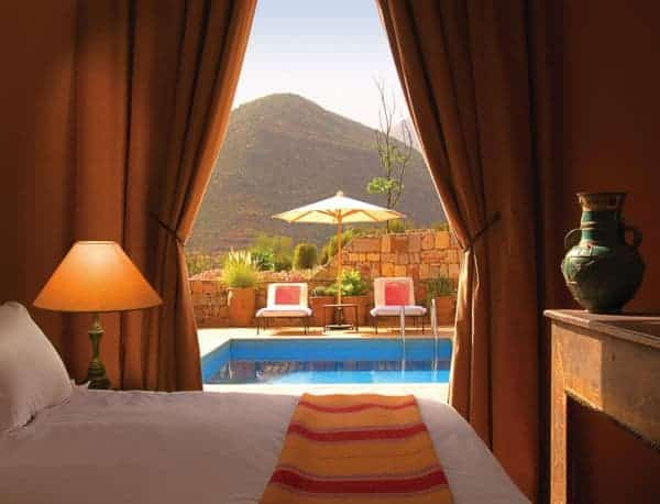 Kasbah Tamadot - Aman Deluxe Suite with Pool