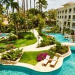 Sandals Barbados - meandering pools