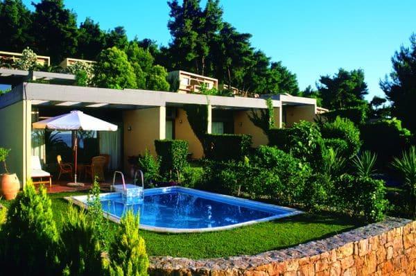 Sani Beach Club, Junior Suite with private pool