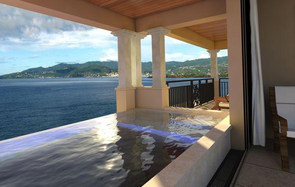 Skypool Suite at Sandals LaSource Grenada