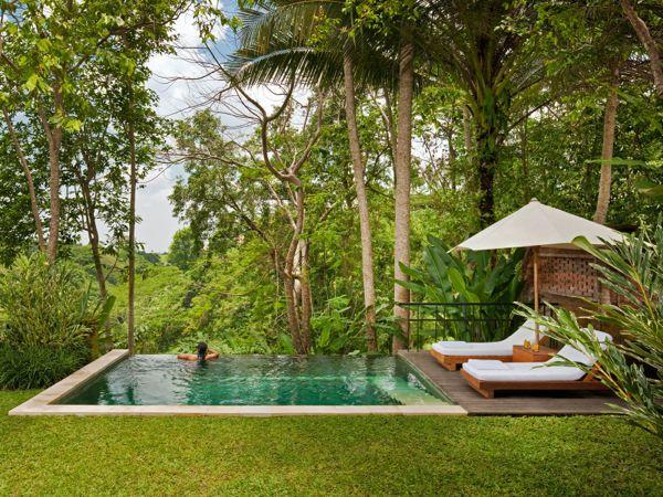 Uma Ubud pool suite
