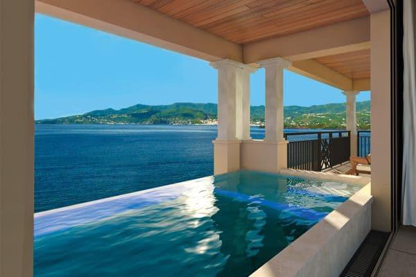 Skypool Suite, Sandals LaSource Grenada