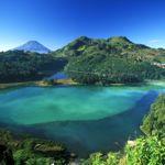 Dieng Plateau lagoon