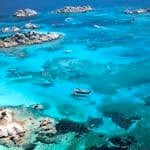 Crystal clear waters off Sardinia