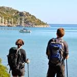 Self-guided walking honeymoons