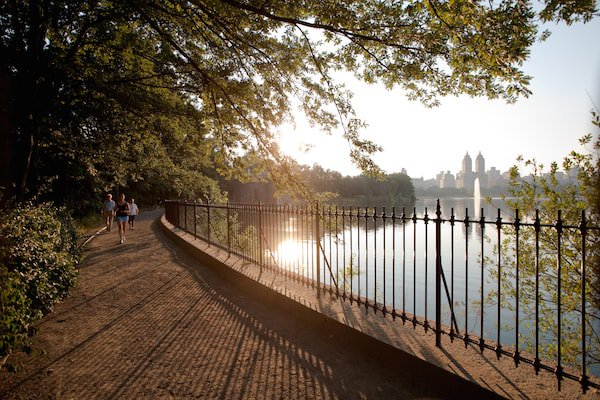 Jacqueline Kennedy Onassis Reservoir Central Park Reservoir Fifth Avenue and 90th Street