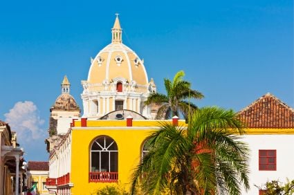 Colourful and historic Cartagena